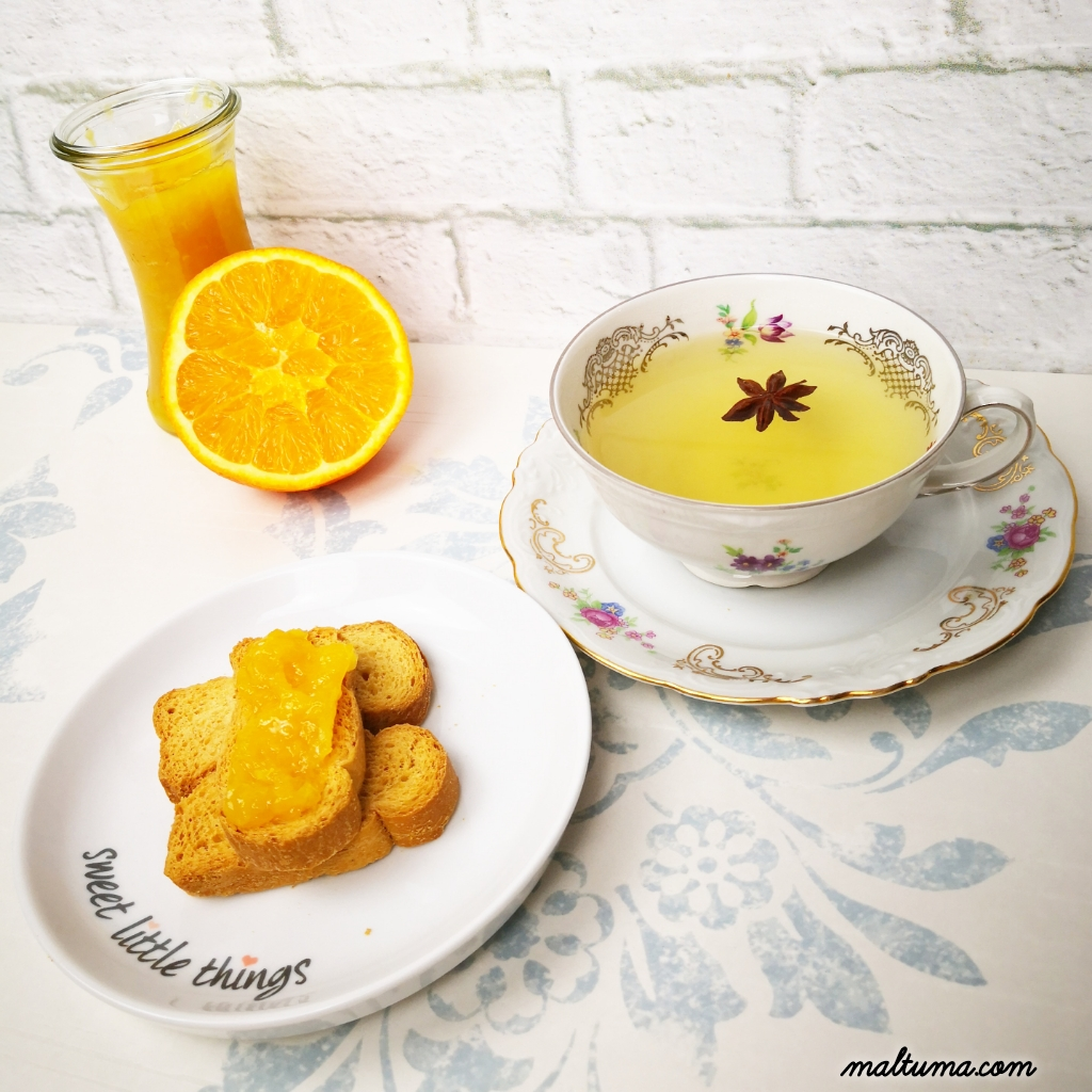 Marmellata arancia cannella by maltuma